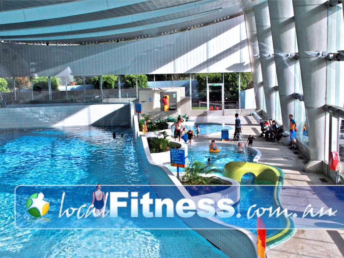 Monash Aquatic & Recreation Centre Glen Waverley Gym Sports The popular 40 metre Wave pool