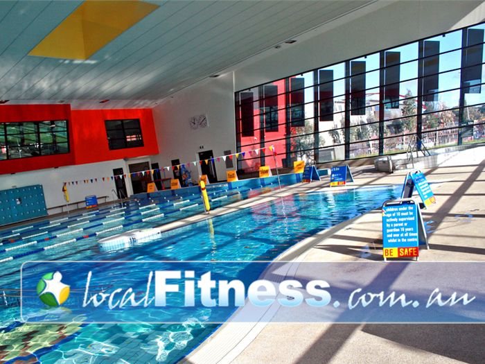 Clayton Aquatics & Health Club Swimming Pool Waverley Park  | Built with urban design to bring refreshing natural