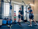 Goodlife Health Clubs Windsor Gym Boxing Fully equipped with heavy bags,
