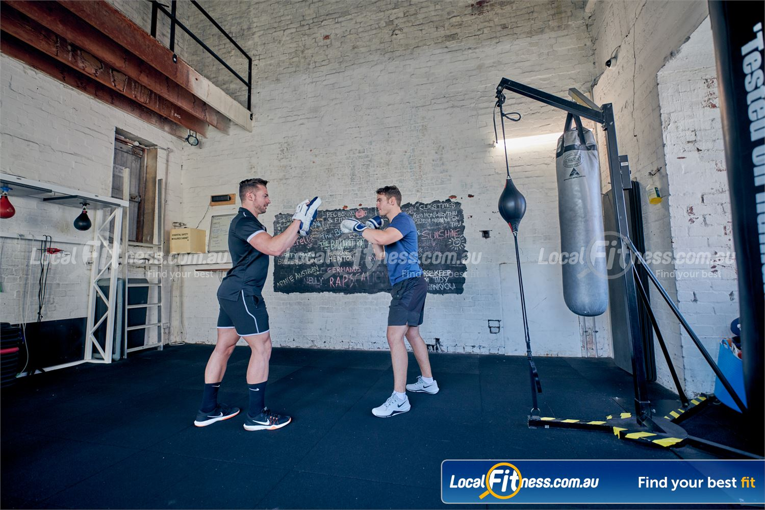 Goodlife Health Clubs Prahran Our boxing instructors will get your heart rate up with boxing classes.