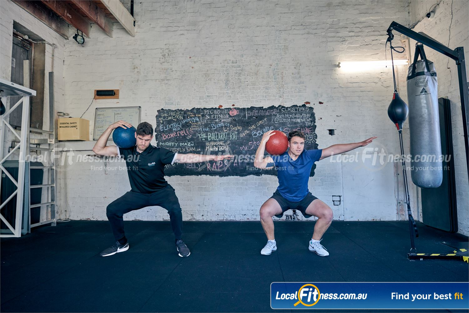 Goodlife Health Clubs Near Windsor Build your core some our lower body boxing drills.