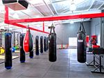 The spacious and dedicated Bentley boxing area.