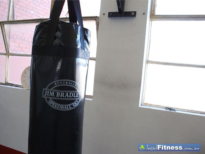 Fitness 24 Hours Collingwood Gym Boxing Area