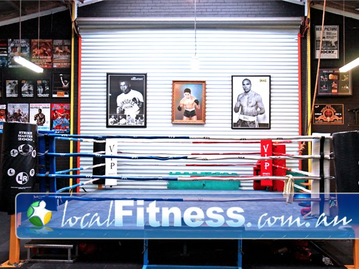 Doherty's Gym Brunswick The fully equipped boxing studio in Brunswick.