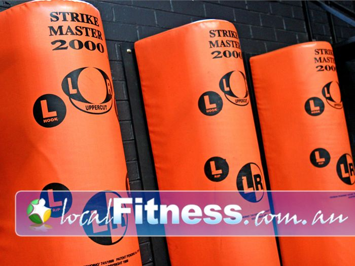 Doherty's Gym Near Brunswick East Speedball, floor to ceiling balls, punching bags and more.