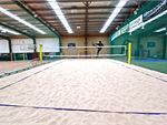 Indoor Beach Volleyball at Roxburgh Park with real