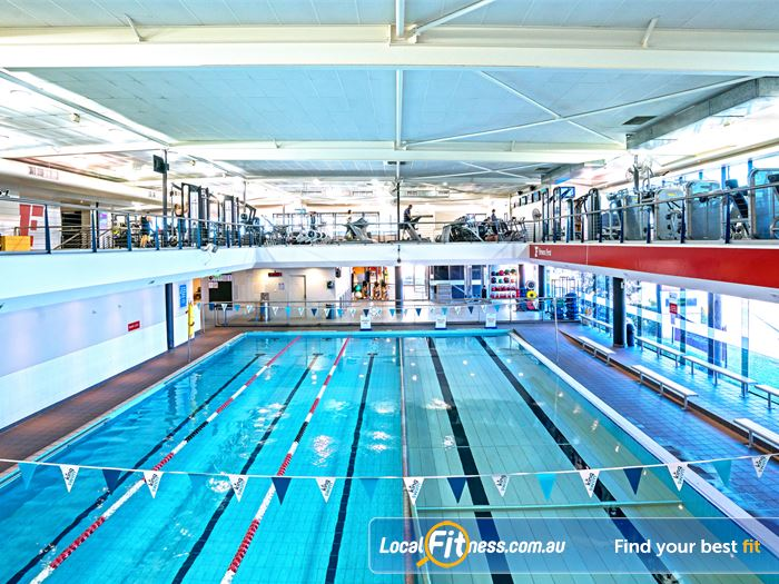 Fitness First Swimming Pool Kelvin Grove  | The indoor Lutwyche swimming pool.