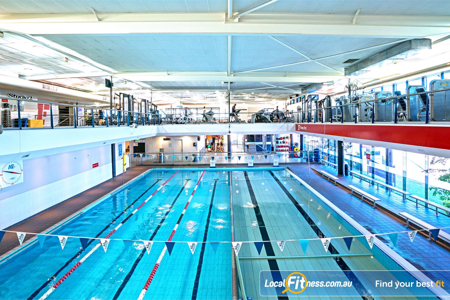 Fitness first swimming pool lutwyche the indoor lutwyche - Fitness first gyms with swimming pools ...
