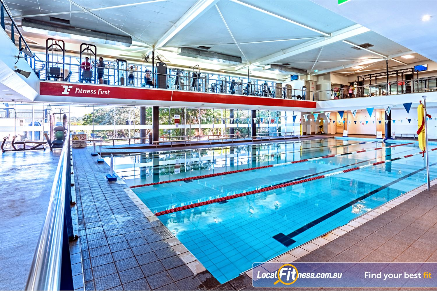 Fitness First Near Gordon Park Enjoy lap lane swimming in our Lutwyche swimming pool.