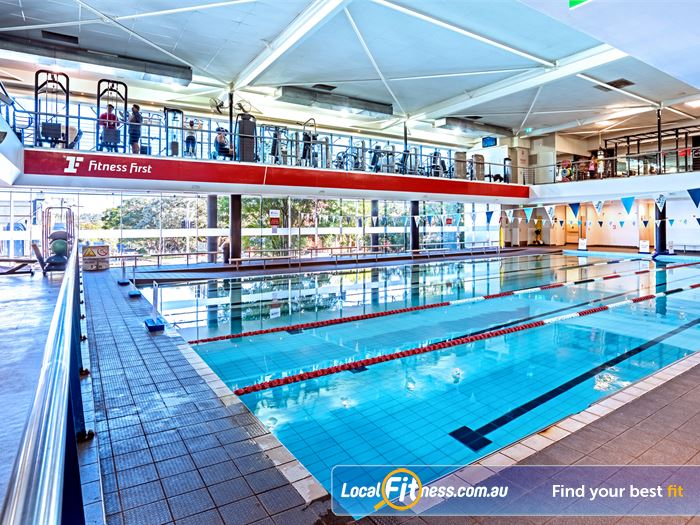 Fitness First Swimming Pool Kelvin Grove  | Enjoy lap lane swimming in our Lutwyche swimming