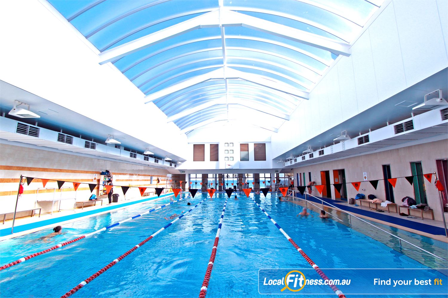 South Pacific Health Clubs St Kilda The renowned St Kilda Sea Baths - one of Melbourne's most iconic destinations.