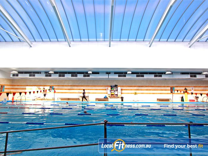 South Pacific Health Clubs Swimming Pool Melbourne  | Relax in our hydrotherapy spa pool and unisex