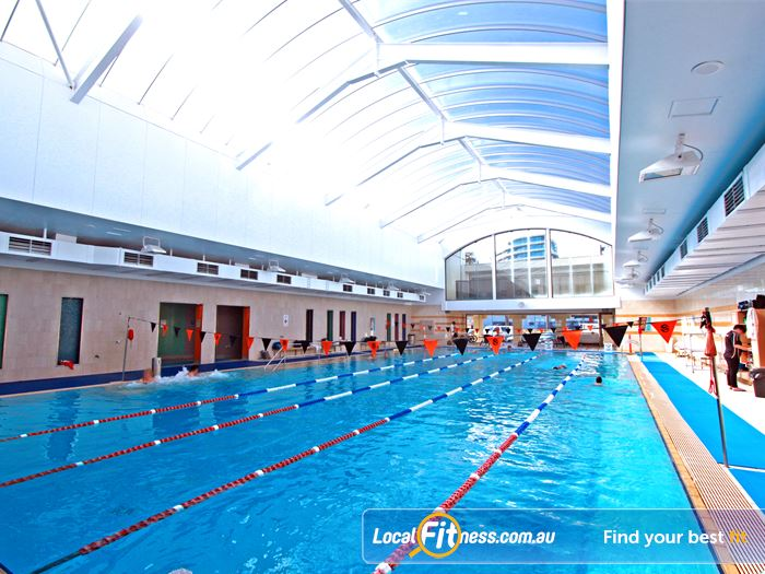 South Pacific Health Clubs St Kilda East Gym Swimming Heated 25 metre seawater St
