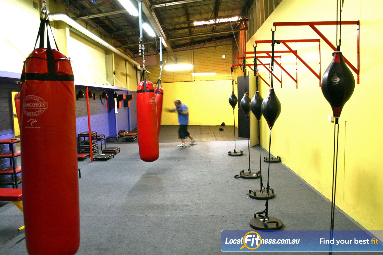 FITafex Gymnasium Essendon The fully equipped Essendon boxing studio.