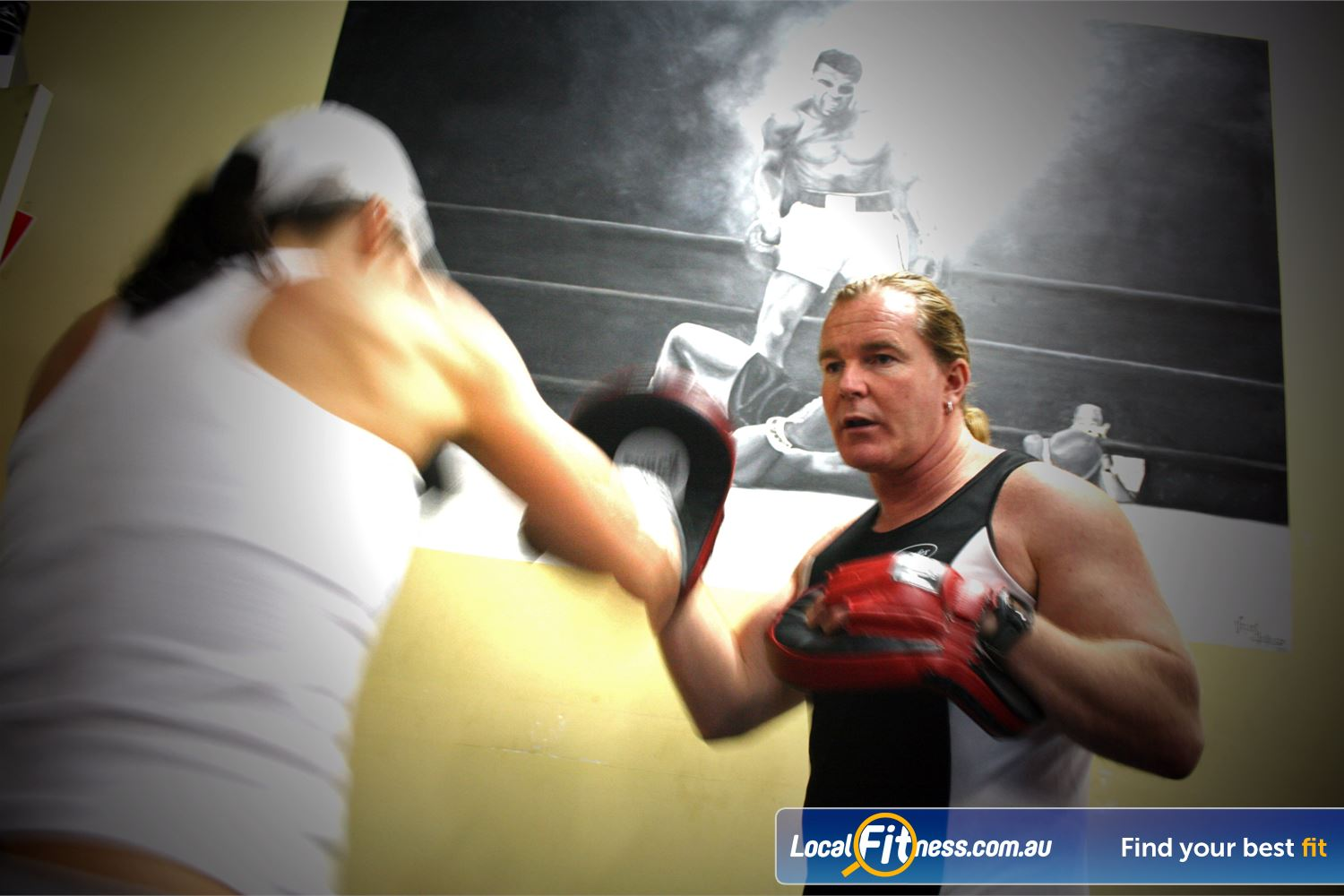 FITafex Gymnasium Essendon Our qualfiied boxing coaches teach you how to really box.