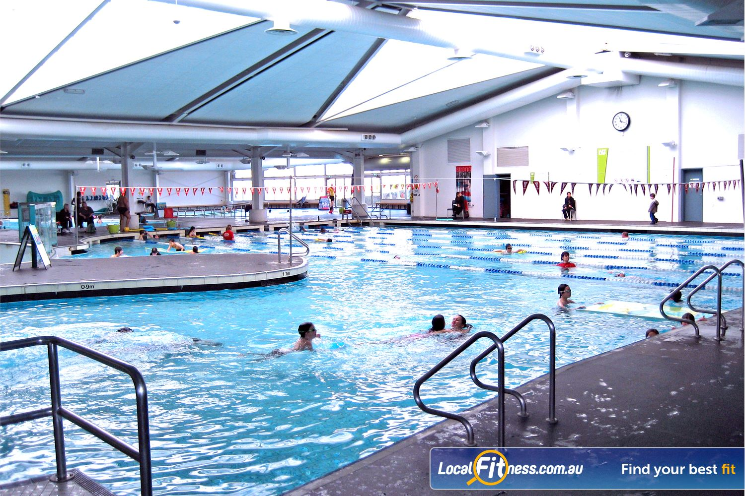 Ascot Vale Leisure Centre Ascot Vale 25 m indoor Ascot Vale swimming pool.
