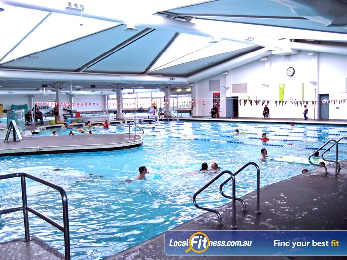 Ascot Vale Leisure Centre Swimming Pool Melbourne  | 25 m indoor Ascot Vale swimming pool.