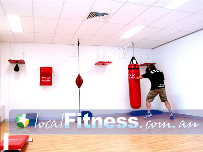 Goodlife Health Clubs Taylors Hill Gym Boxing Full range of boxing facilities.