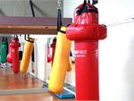 Westgate Health & Fitness Club Altona North Gym Boxing Heavy boxing bags.