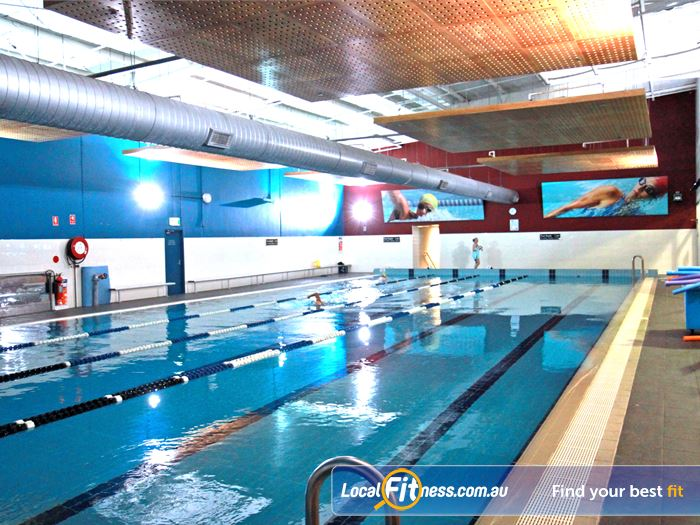Fitness First Swimming Pool Near Kogarah The Open Plan Space Give Members A Relaxing Rockdale