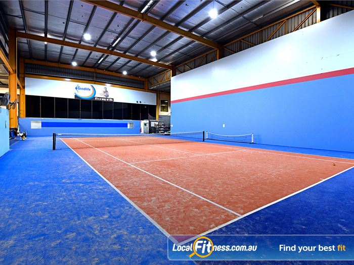 Goodlife Health Clubs Knoxfield Gym Sports Enjoy tennis at Goodlife