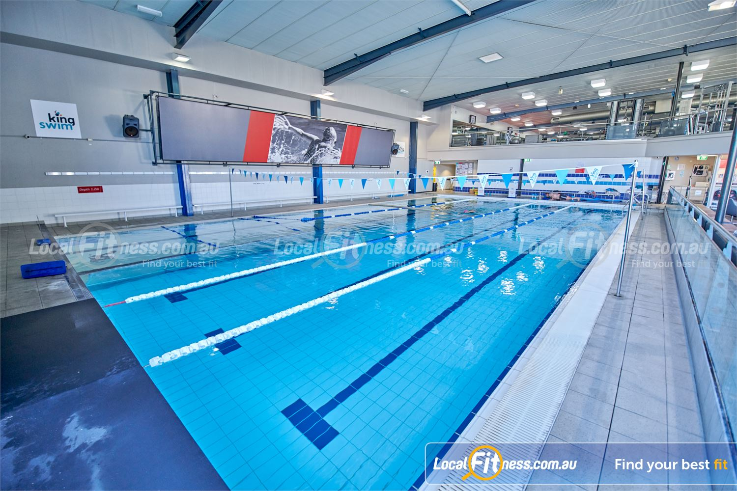 Fitness First Bayside Highett Join our aqua classes in our Bayside swimming pool.