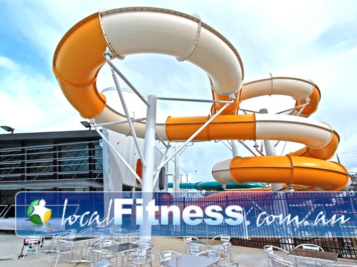 Glen Eira Sports and Aquatic Centre (GESAC) Bentleigh East Gym Sports Two unique thrilling waterslides
