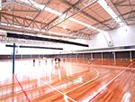 Glen Eira Sports and Aquatic Centre (GESAC) Oakleigh South Gym Sports Indoor stadium with three
