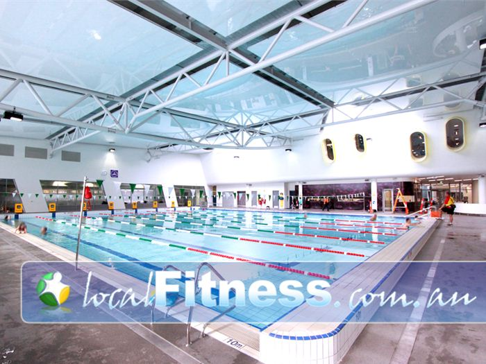 Glen Eira Sports and Aquatic Centre (GESAC) Swimming Pool Melbourne    The 25 metre indoor Bentleigh swimming pool.