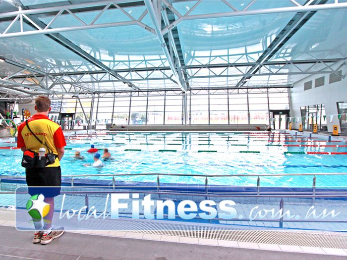 Glen Eira Sports and Aquatic Centre (GESAC) Swimming Pool Waverley Park  | Safety first..with Lifeguards always on deck at GESAC.