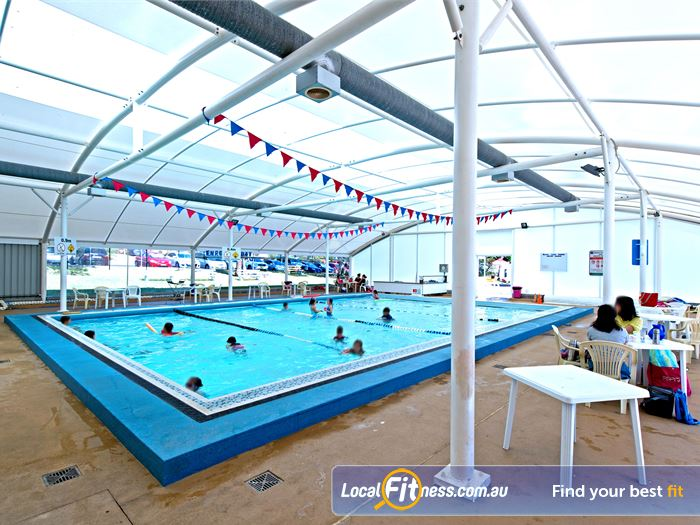 Waves Fitness and Aquatic Centre Baulkham Hills Gym Swimming The indoor Learn to swim pool.