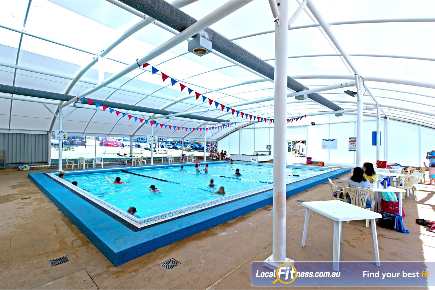 Waves Fitness and Aquatic Centre Baulkham Hills The indoor Learn to swim pool.