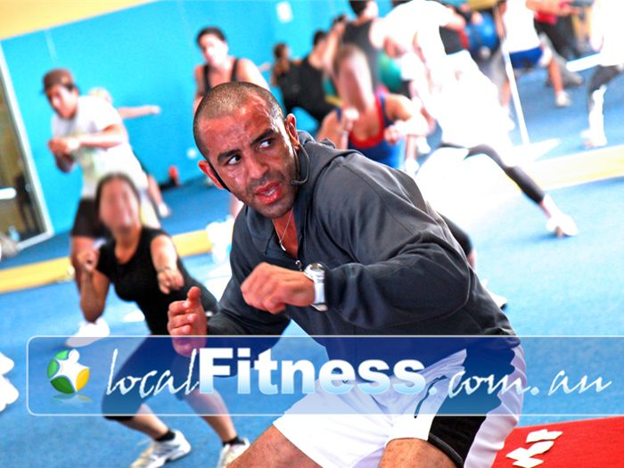 Zone Fitness Dandenong High energy Dandenong Boxing style classes.