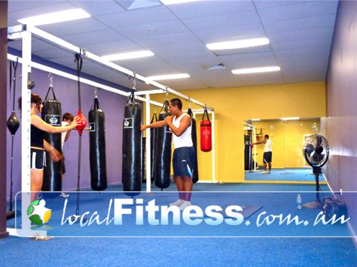 Zone Fitness Dandenong Fully equipped Dandenong boxing studio.