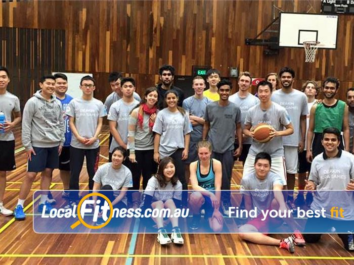 Burwood Fitness Centre Burwood Gym Basketball Get into team sports and