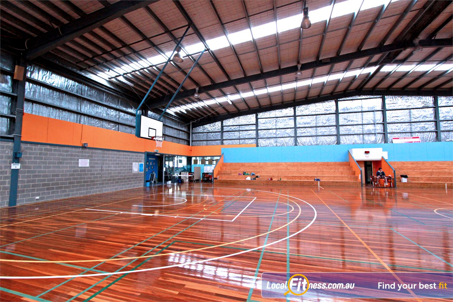 Yarra Recreation Centre Yarra Junction The Yarra Centre 2 court stadium.