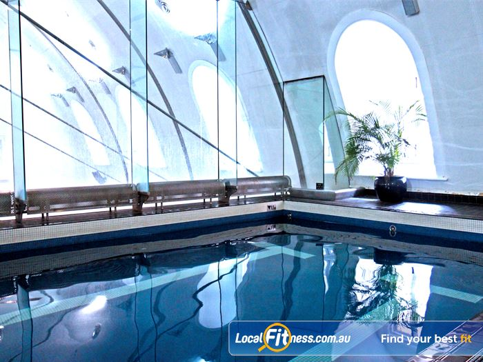 Goodlife Health Clubs Martin Place Swimming Pool Sydney  | The 15 m Sydney swimming pool is perfect
