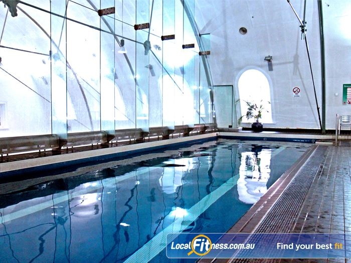 Goodlife Health Clubs Martin Place Swimming Pool Chatswood  | Our Sydney swimming pool is heated for our