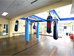 The Fortitude Valley boxing studio includes heavy bags,