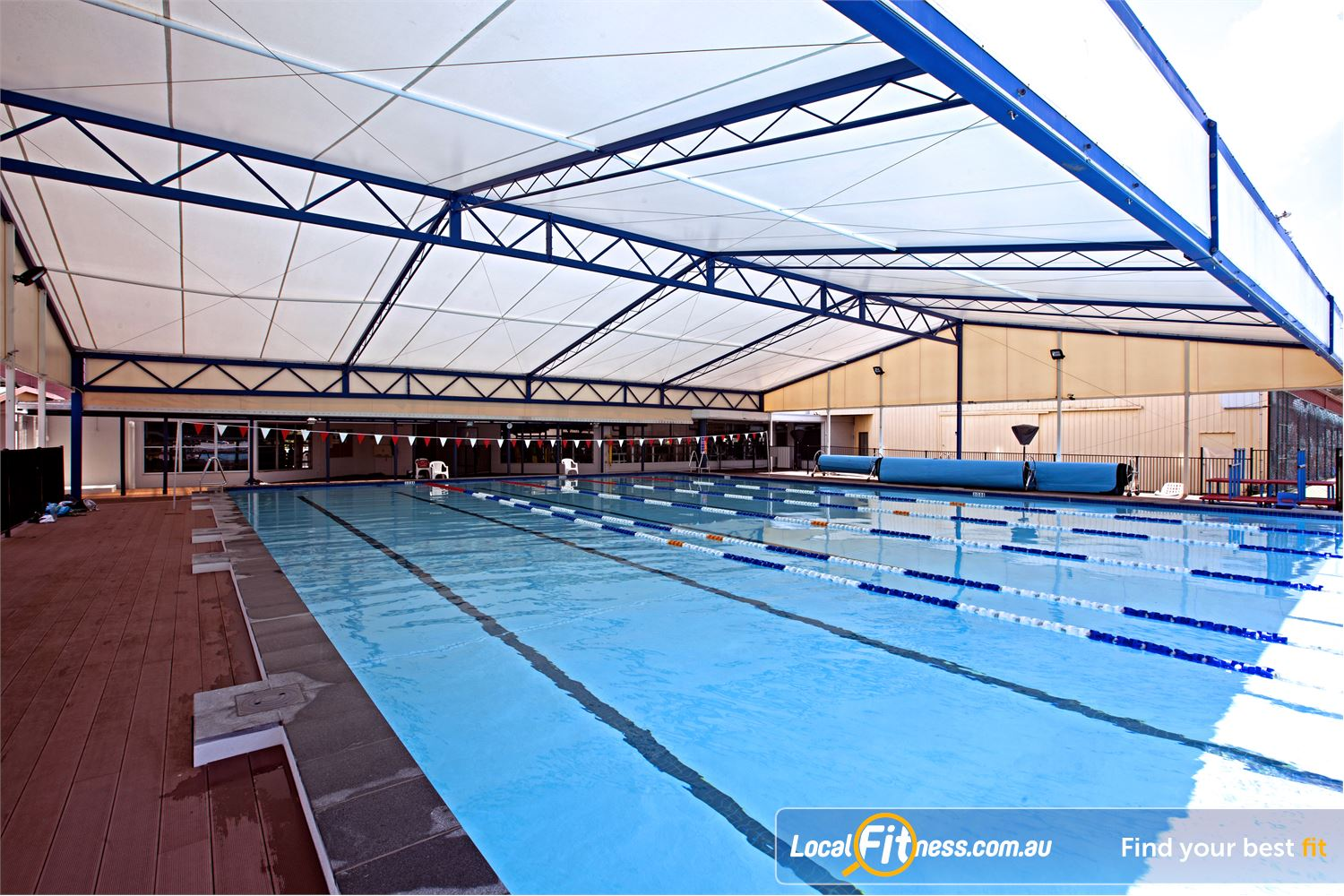 Goodlife Health Clubs Alexandra Hills Join our aqua classes with the undercover swimming pool area.
