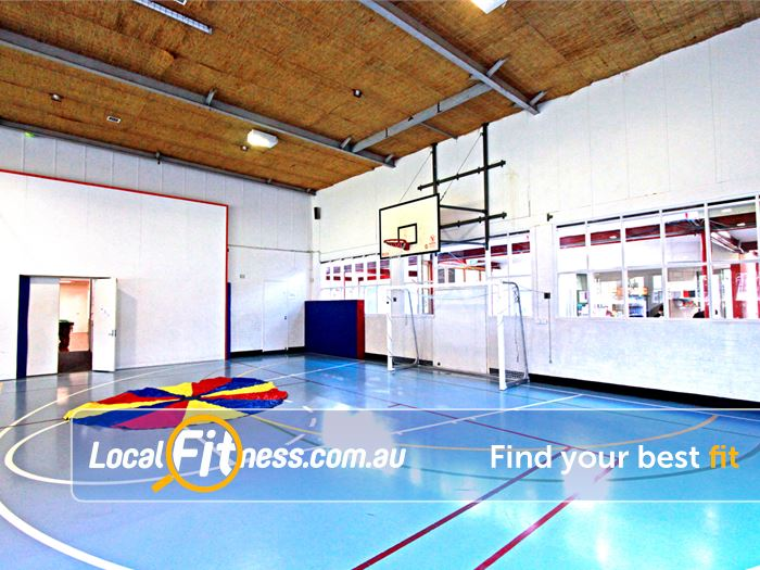 North Melbourne Community Centre North Melbourne Gym Basketball Multi-purpose indoor North