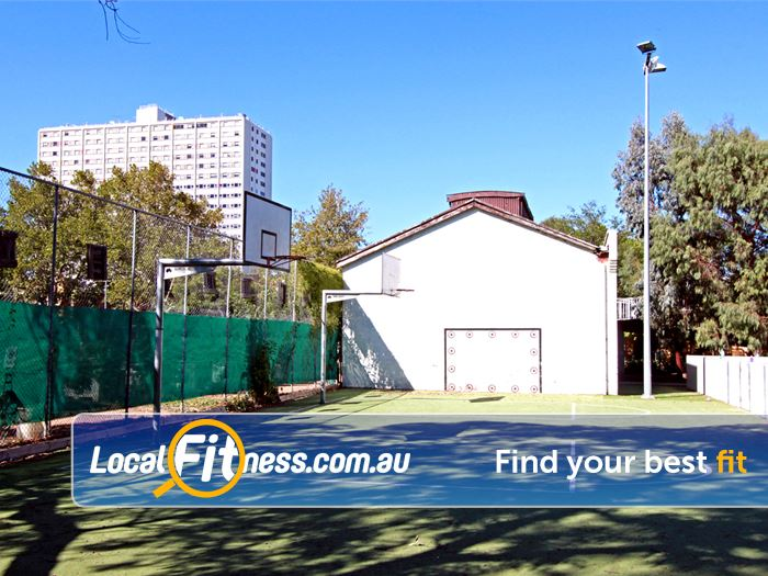 North Melbourne Community Centre North Melbourne Gym Basketball Outdoor basketball courts at