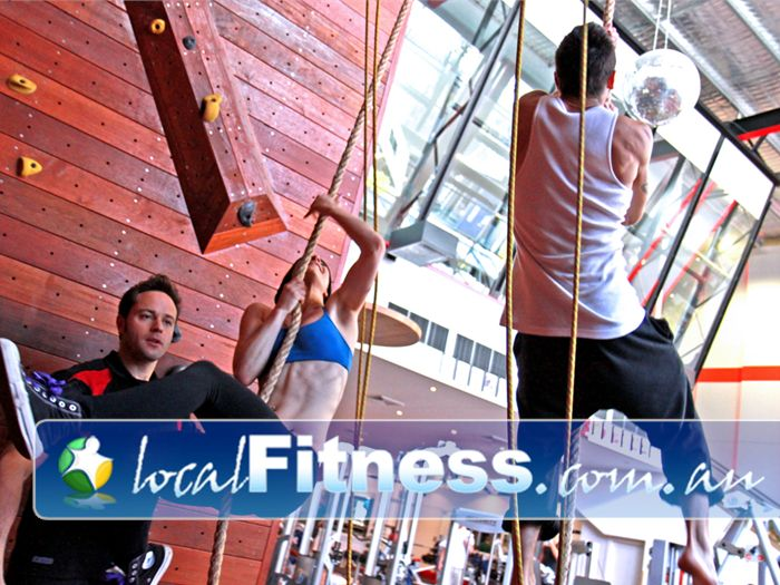 Total Body Conditioning Gym Waterloo Challenge your fitness with rope training in our Waterloo gym.