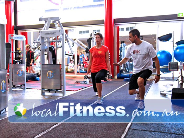 Total Body Conditioning Gym Waterloo Indoor Sydney running track in our Moore Park gym.