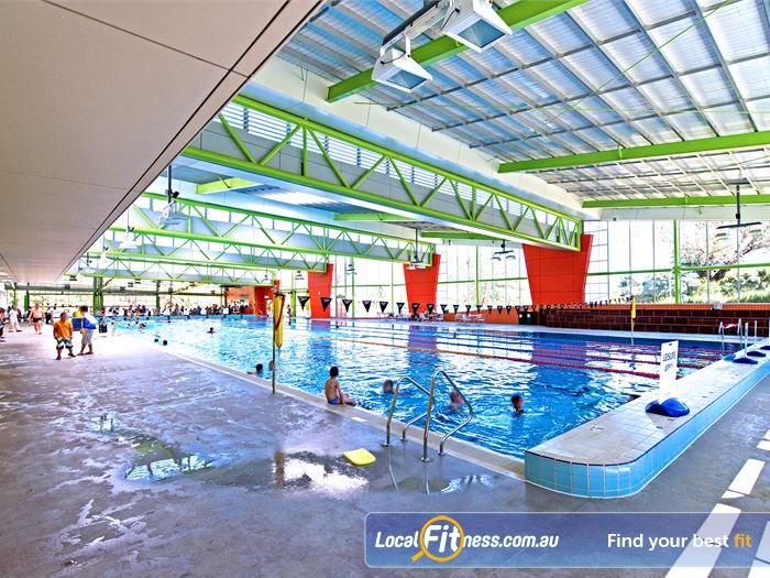 Annette Kellerman Aquatic Centre Swimming Pool Sydney  | The 50m indoor Marrickville swimming pool.