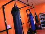 Pinnacle Health Club 24/7 Cranbourne Gym Boxing Plenty of boxing bags.
