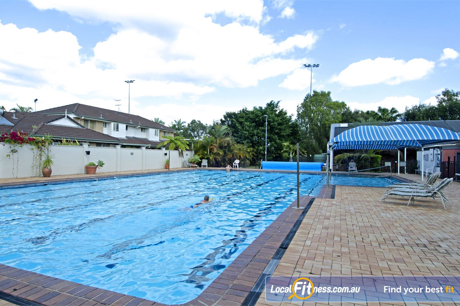 Goodlife Health Clubs Carseldine Outdoor Carseldine swimming pool.