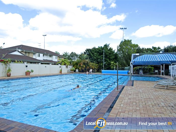 Goodlife Health Clubs Swimming Pool Kelvin Grove  | Enjoy the outdoor Carseldine swimming environment.