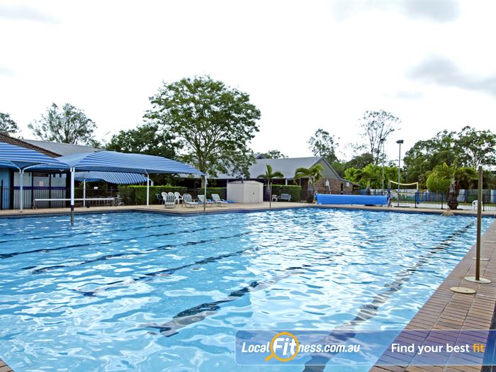 Goodlife Health Clubs Swimming Pool Kelvin Grove  | Multiple lanes perfect for lap swimming outdoors.
