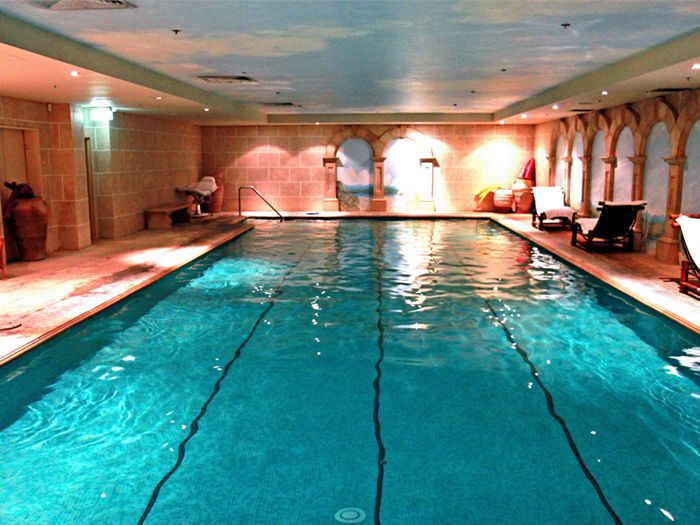 Orbit Fitness Near Point Piper Gorgeous 20-metre heated indoor saltwater pool in Edgecliff.